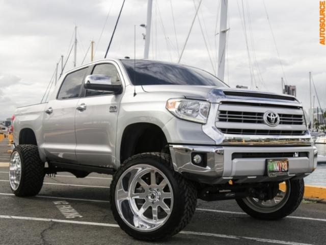 2015 Toyota 9  Lifted Tundra 1794 Edition