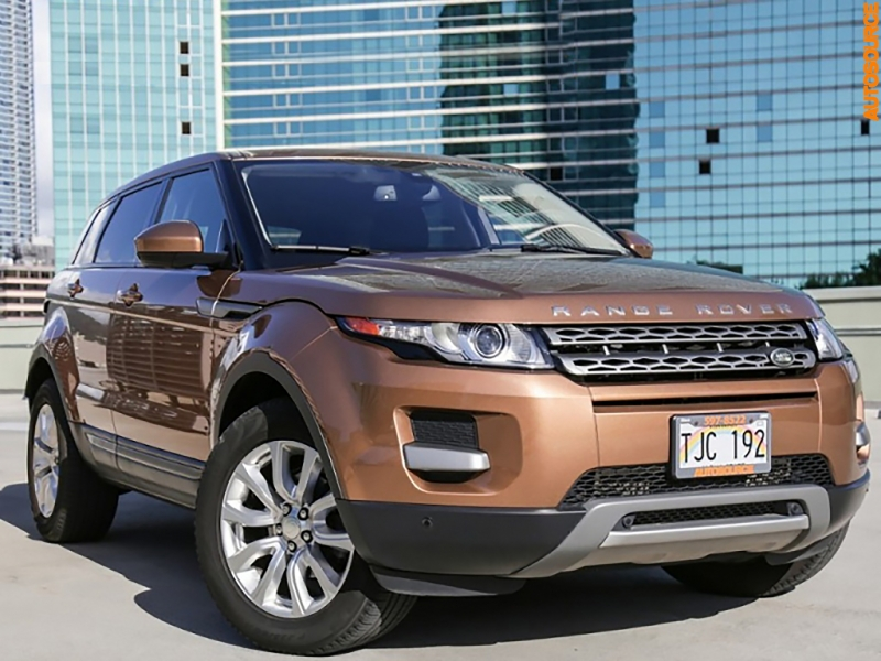 Land Rover Range Rover Evoque 2015 price $26,995
