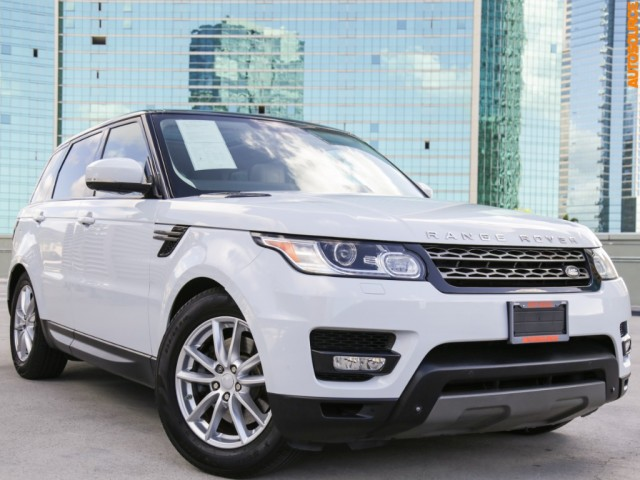 2015 Land Rover 4WD Range Rover Sport HSE
