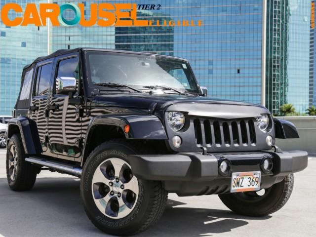2016 Jeep 4WD Wrangler Unlimited Sahara