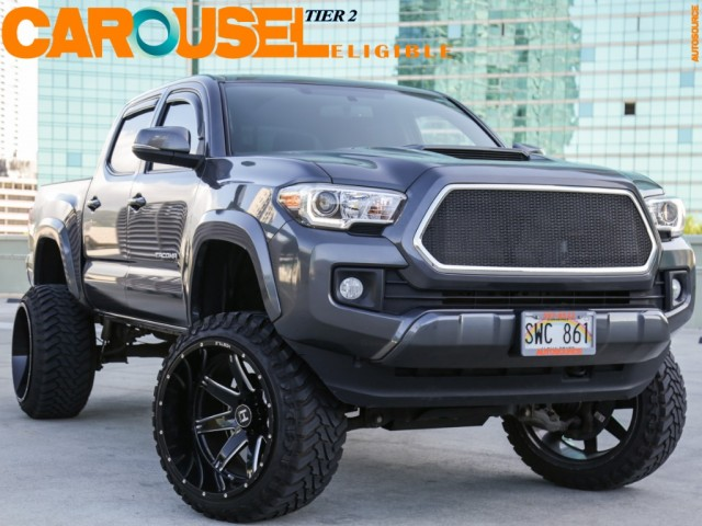 2016 Toyota 6in LIFT 4WD Tacoma CREW CAB