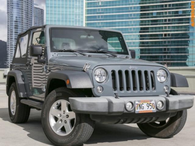 2014 Jeep 4WD Wrangler Sport