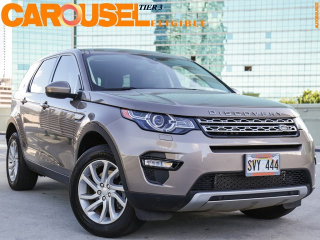 2016 Land Rover Discovery Sport AWD HSE