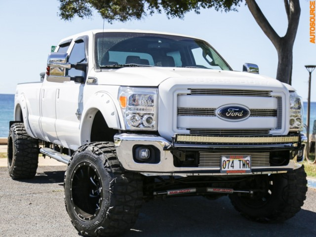 2013 Ford F350 LIFTED DIESEL 4WD