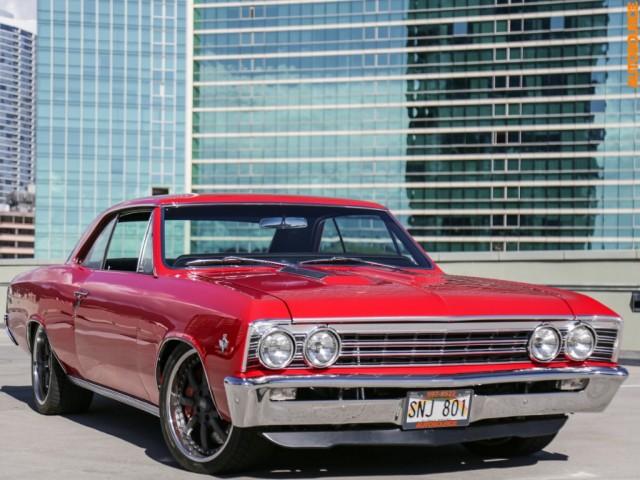 1967 Chevrolet PRO TOURING KINDIG INSPIRED 502 Chevelle