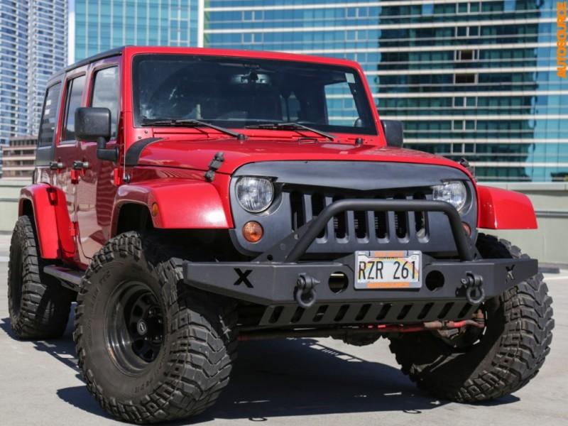 2013 Jeep Lifted Wrangler Sahara Unltd