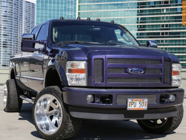 2008 Ford F350 LIFTED DIESEL 4WD LARIAT