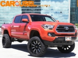 Toyota Lifted Tacoma 4X4 Double Cab 2017