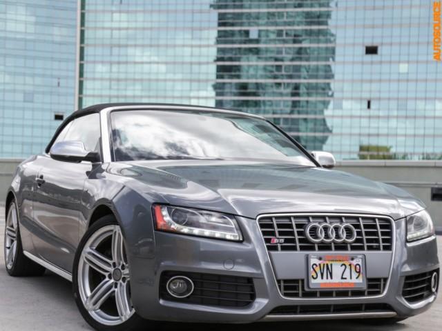 2012 Audi S5 Cabriolet Premium Plus