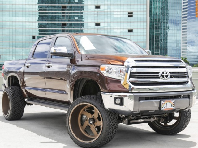 2016 Toyota Tundra 4WD LIFTED 1794 Edition CrewMax Platinum