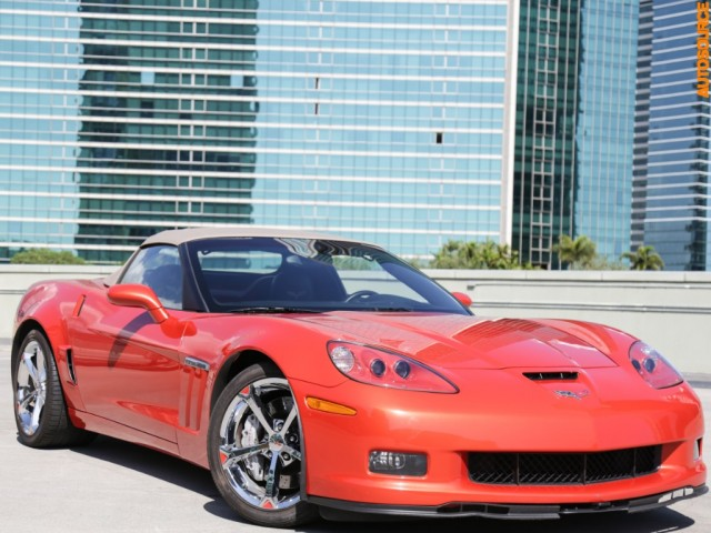 2011 Chevrolet Corvette Z16 Grand Sport Convertible Performance P