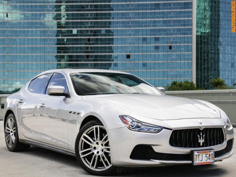 Maserati Ghibli Price >> Used 2014 Maserati Ghibli In Honolulu Hi Auto Com Zam57xsa3e1086546