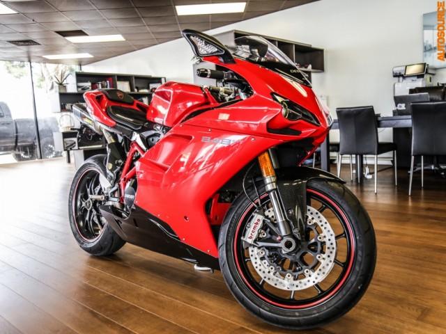 2011 Ducati 848 EVO Red/Black Edition
