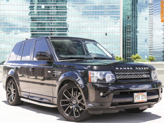 2012 Land Rover Range Rover Sport 4WD HSE LUX