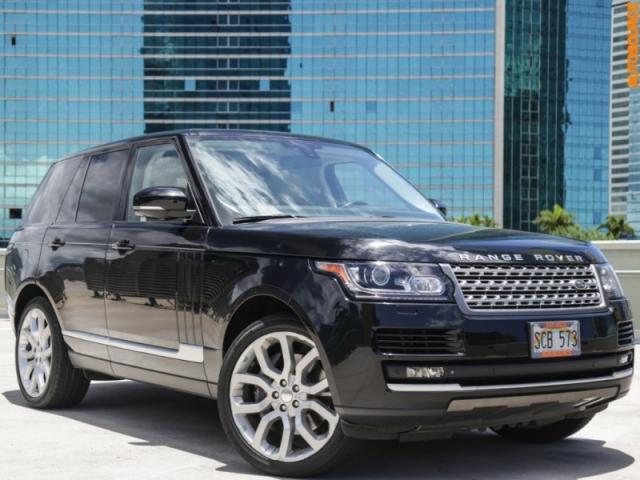 2014 Land Rover FULLSIZE Range Rover (510HP) V8 Supercharged
