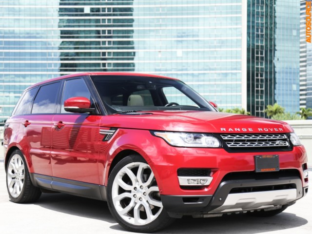 2014 Land Rover Range Rover Sport 4WD HSE