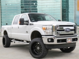 Ford F250 4WD Lifted 6 inch DIESEL 2014