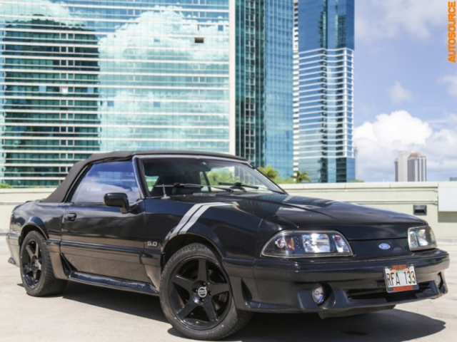 1992 Ford 5.0 GT (Manual) Foxbody Convertible