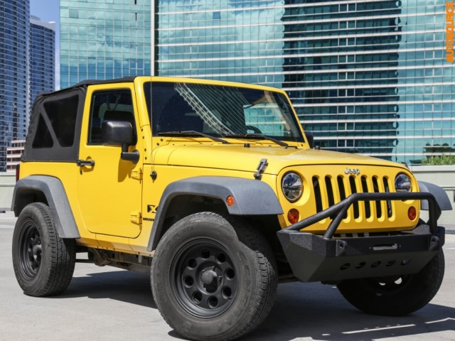 2008 Jeep 4WD Wrangler X
