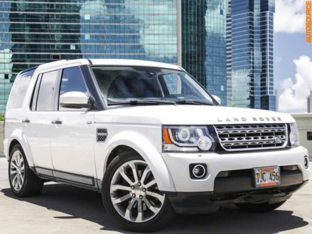 2015 Land Rover LR4 4WD
