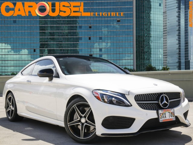2017 Mercedes-Benz C300 Sport Package (Coupe)