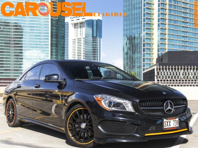 Mercedes Benz Cla250 Sport Orange Edition Autosource