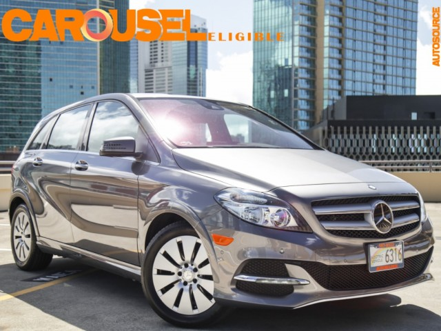 2016 Mercedes-Benz B250e Electric Drive