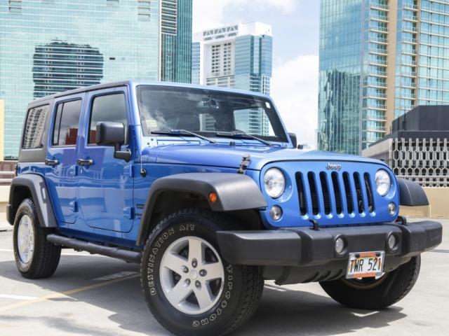 2015 Jeep Wrangler 4WD Unlimited Sport