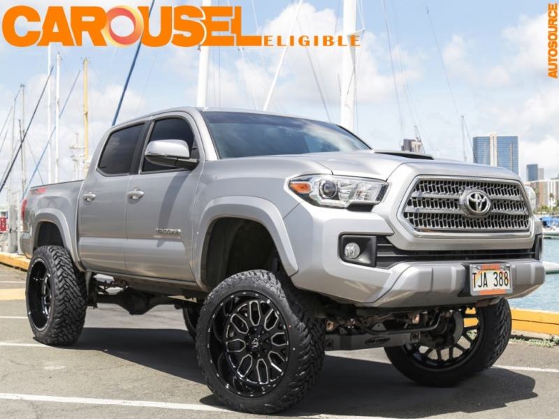 Toyota Lifted 6in Tacoma 4WD TRD Sport 2017 price $42,995