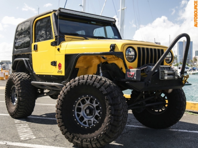2006 Jeep Lifted Wrangler X (Manual)