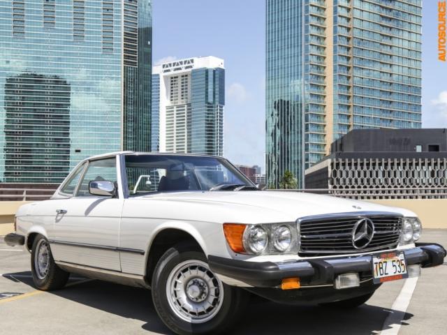 1977 Mercedes-Benz 450SL Removable-Hardtop Convertible