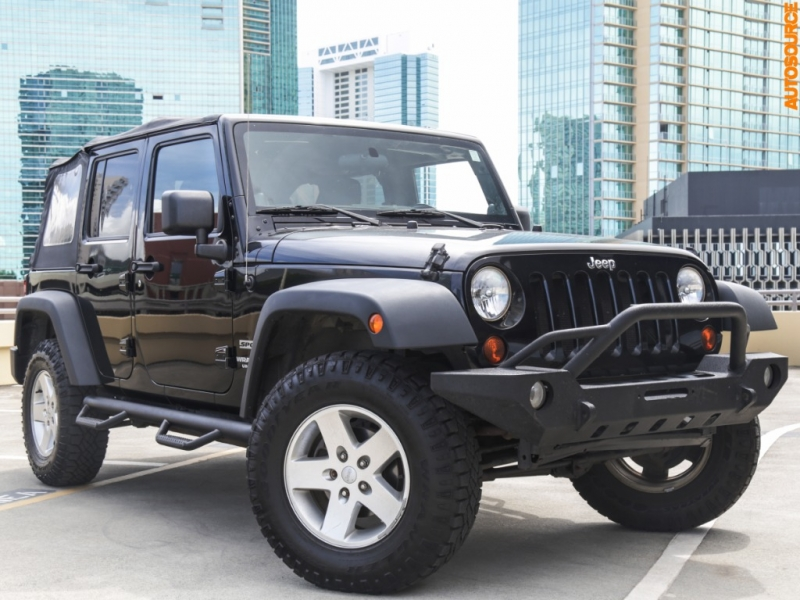 Jeep 4WD Wrangler Unlimited Sport 2011 price $23,995
