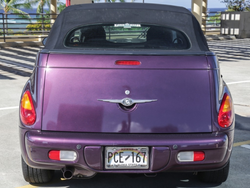 Chrysler PT Cruiser Convertible Touring 2005 price $4,995