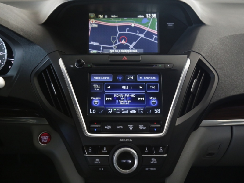 Acura MDX TECH PKG 2016 price $27,995