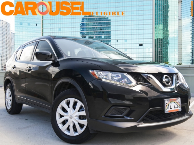 Nissan Rogue S 2016 price $16,995