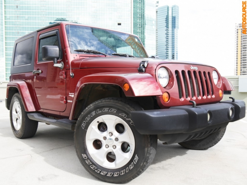 Jeep Wrangler 4WD Sahara Edition 2007 price $14,995
