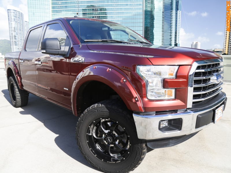 Ford Lifted F150 XLT Supercrew 2015 price $39,995