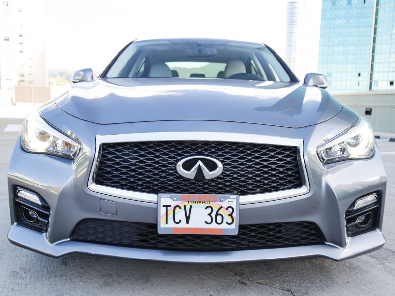 Infiniti Q50S Red Sport 400HP 2017 price $39,995