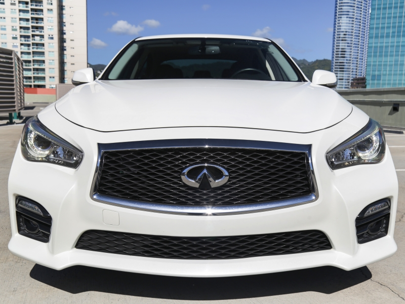 Infiniti Q50S Red Sport 400HP 2016 price $29,995