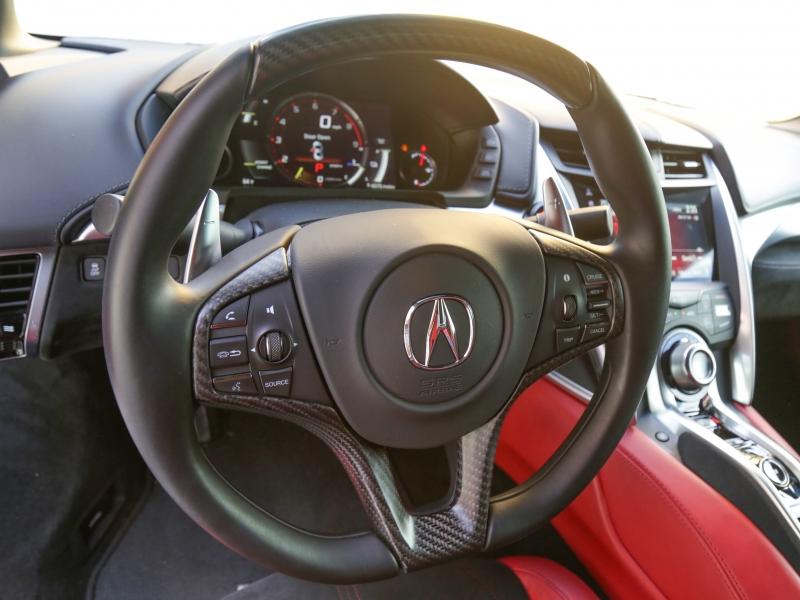 Acura NSX 2017 price $149,995