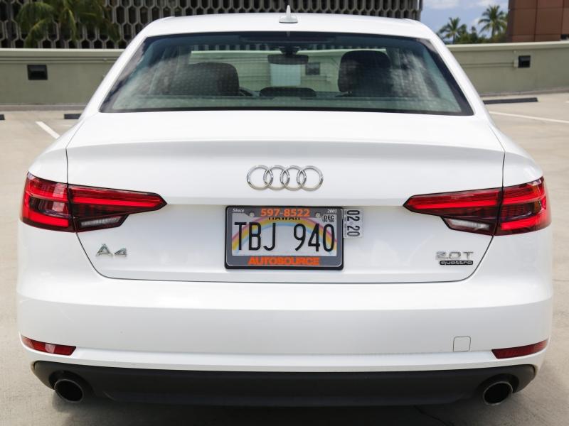 Audi A4 Premium Quattro 2017 price $24,995