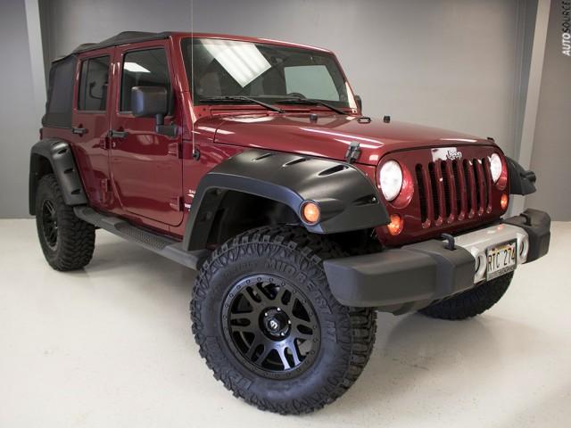 2012 Jeep Wrangler sahara lifted