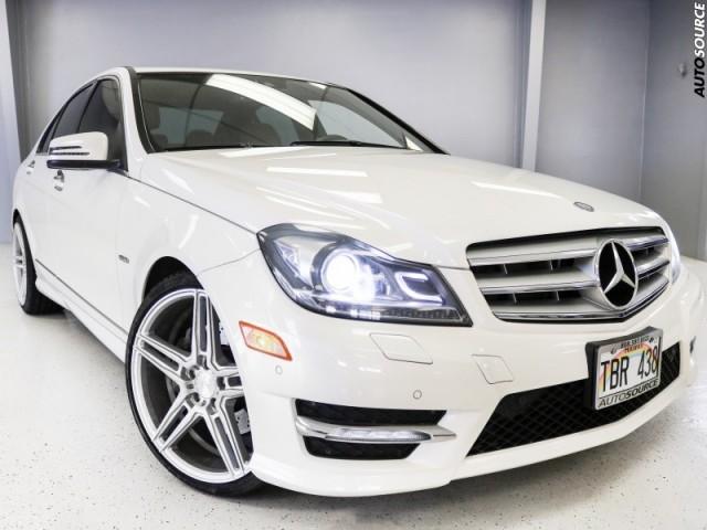 2012 Mercedes-Benz C350 Sport loaded
