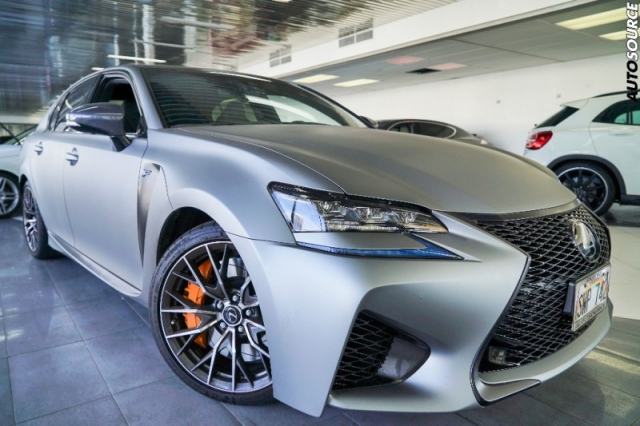 2016 Lexus GS-F 5k Miles