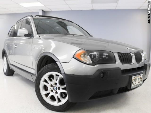 2005 BMW X3 xDrive 2.5i