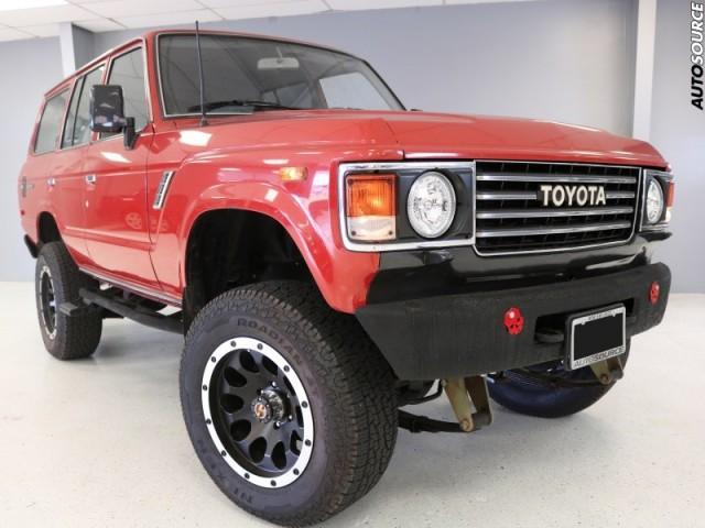 1987 Toyota Land Cruiser 4WD restored