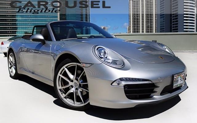 2013 Porsche 911 cabriolet 13KMi