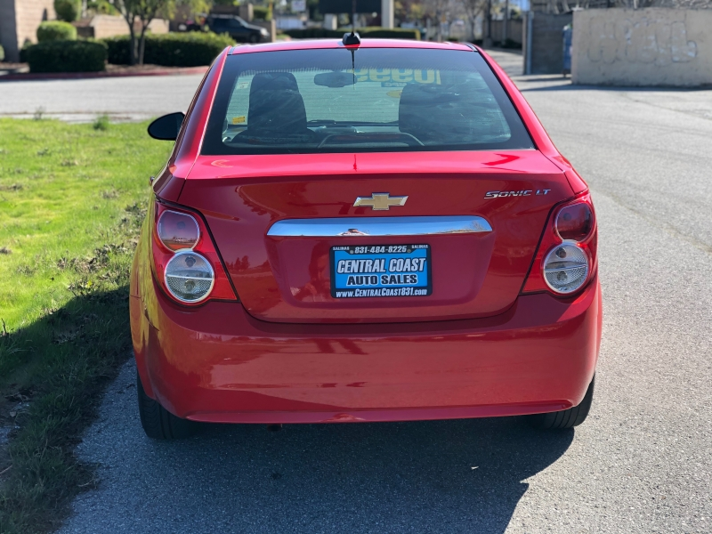 Chevrolet Sonic 2016 price $8,999