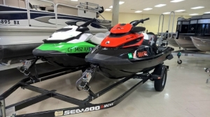 Sea Doo Red RXT /Green GTI SE 2014