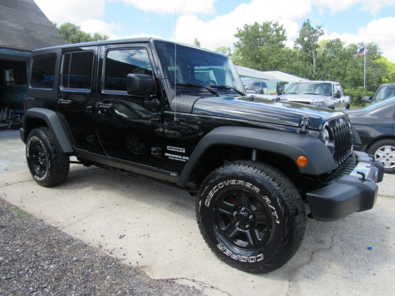 JEEP WRANGLER UNLIMI 2015 price $20,995